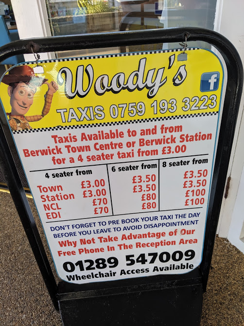 Haven Berwick Upon Tweed Review - woodys taxi