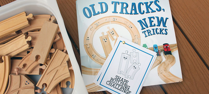 Fun Shape Activity for Kids Who Love Trains | Free Printable