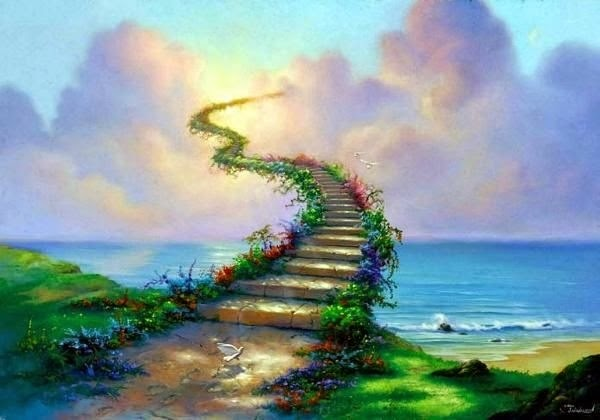 Resultado de imagen de La escalera del inifnito