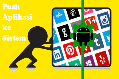 push app to sistem