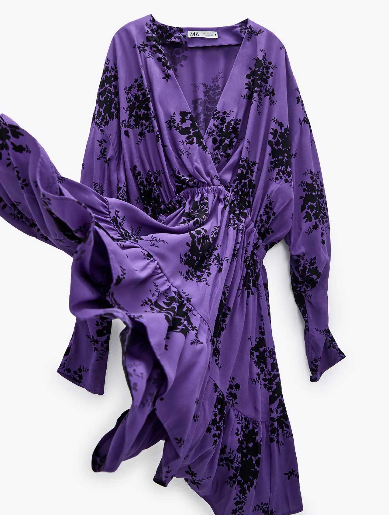 Vestido Zara otoño invierno 2021