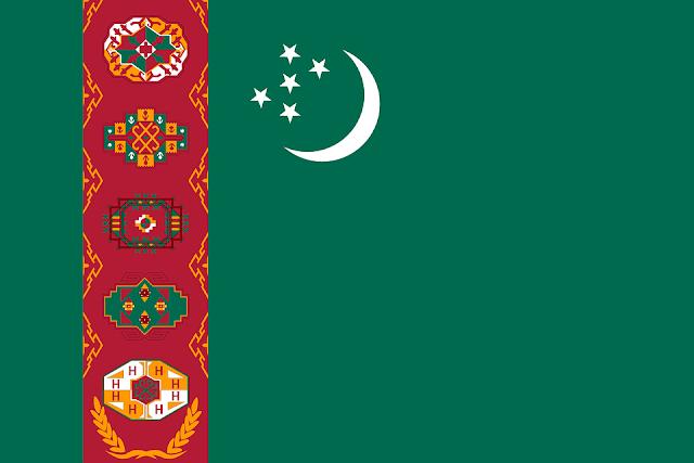 Bandera de Türkmenistán