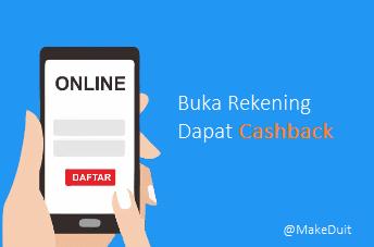 5 Bank Promo Buka Rekening Dapat Cashback
