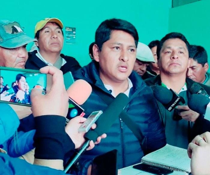 Pampa es el segundo hombre de ADEPCOCA luego de Franclin Gutiérrez / FM BOLIVIA