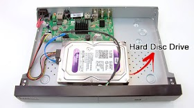 Maximum Hard drive Support by Hikvision DVR NVR