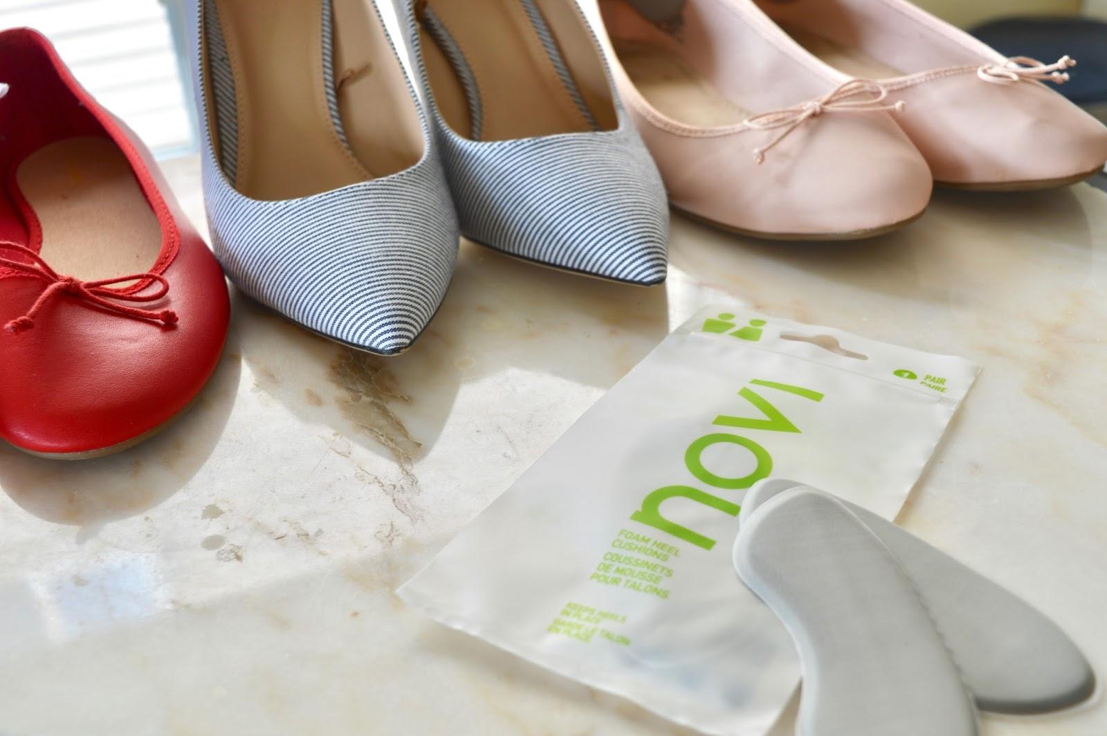 shoe heel pads