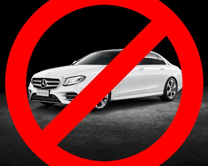 Banning the sale of Mercedes cars in Germany because of Nokia
