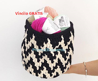 Logo Vinci gratis il kit uncinetto Aalto Basket