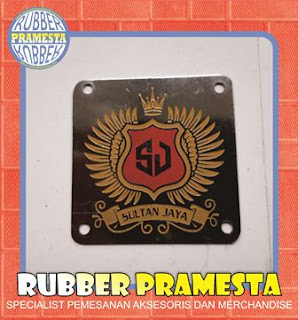 PLAT LABEL STAINLLES | PLAT LABEL CUSTOM | PLAT LABEL TAS KANTONG