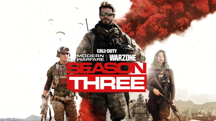 call of duty modern warfare season 3 warzone battle pass infinity ward activision multiplayer maps new operator alex ghost missions pc ps4 xb1