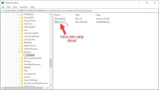 nonaktifkan tombol power windows 10