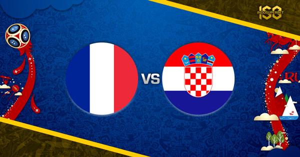 Prediksi Perancis vs Kroasia 15 Juli 2018