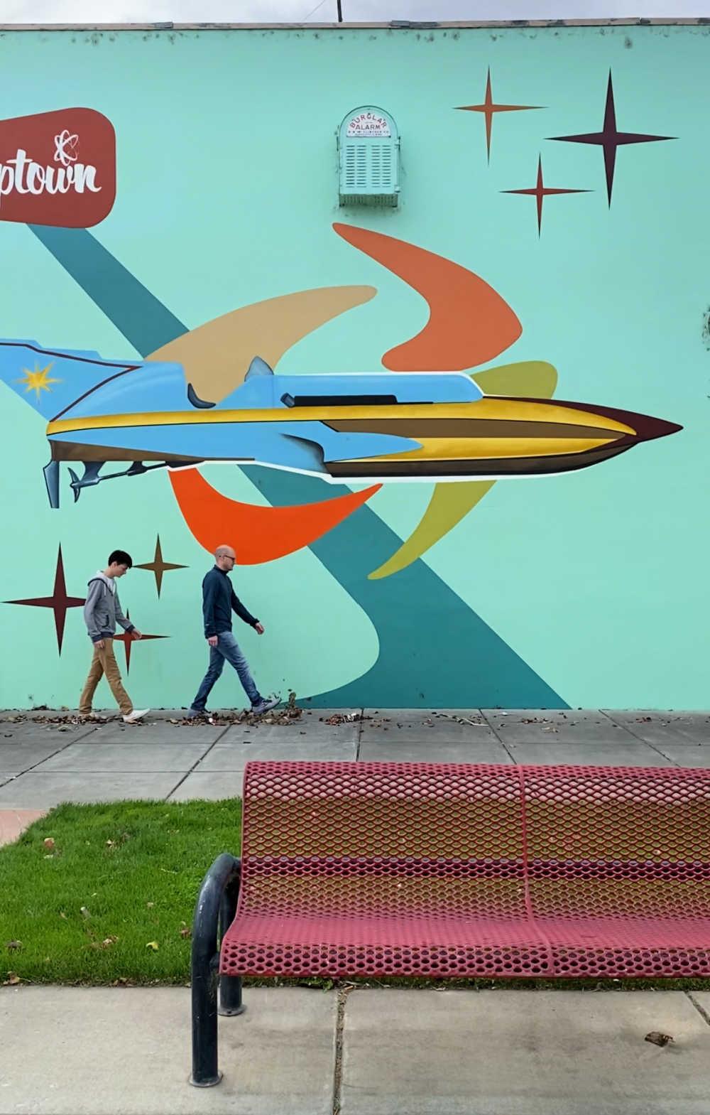 tri cities mural art
