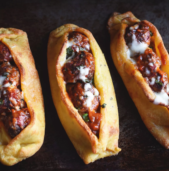LOW-CARB MEATBALL SUBS