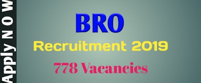 BRO Recruitment 2019 Jobs In Assam, Govt Job Of Assam