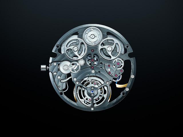 Grand Seiko T0 Constant-force Tourbillon concept movement
