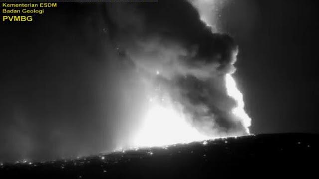 Warganet Kaget Dengan Suara Gunung Krakatau Meletus, PVMBG Bilang Itu Bukan Krakatau Tapi Suara Petir