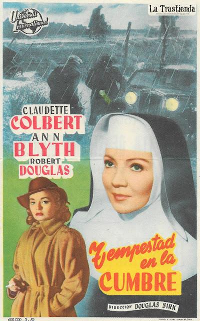 Tempestad en la Cumbre - Programa de Cine - Claudette Colbert - Ann Blyth