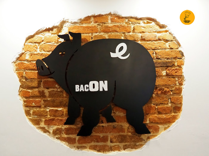 Logo Bacon Madrid, Bacon Málaga