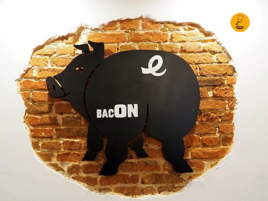 Logo Bacon Madrid, Bacon Málaga