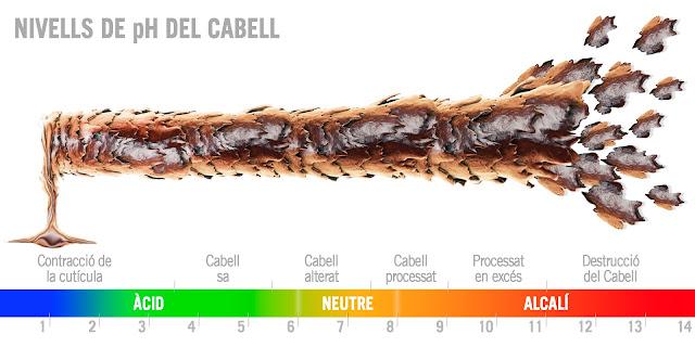 Perruqueria LeLook: el pH del Cabell