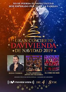 Gran Concierto DAVIVIENDA de Navidad 2019