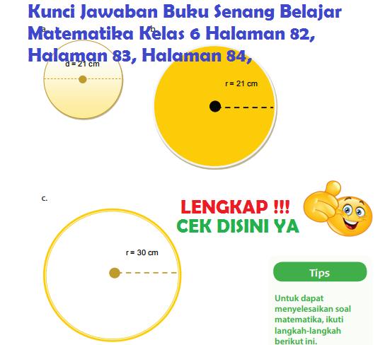Lengkap Kunci Jawaban Halaman 82 83 Buku Senang Belajar Matematika Kelas 6 Kunci Jawaban Lengkap Dan Terbaru Simplenews