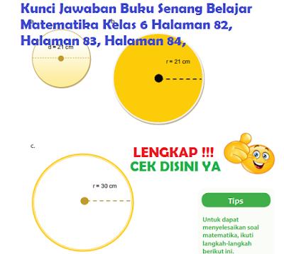 Kunci Jawaban Buku Senang Belajar Matematika Kelas 6 Halaman 82, Halaman 83, Halaman 84, www.simplenews.me