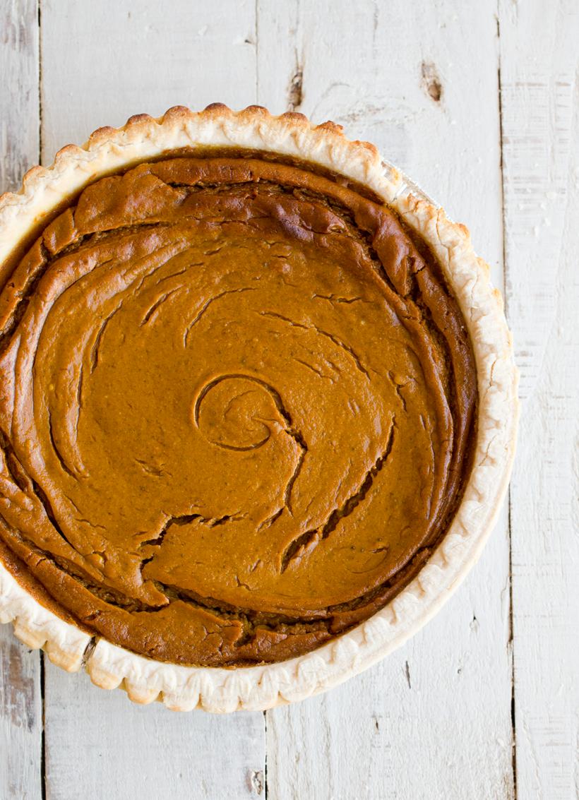 Simple Vegan Pumpkin Pie