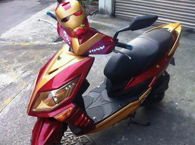Motocicleta de Iron Man