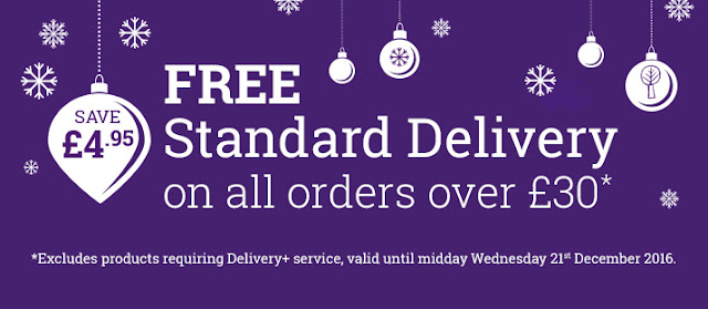 Last order dates - Free standard delivery