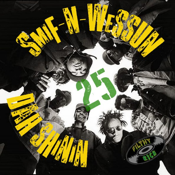 Celebrating 25 years of Smif N Wessun's LP 'Dah Shinin'. Black Moon & Da Beatminerz laid the blueprint for the early 90's gritty BK sound, and Tek & Steele ran with it crafting this undeniable CLASSIC. Mr Rippa & Vicksta's patois-infused rhymes over hard drums & dark samples made this the soundtrack for winter of 95 & beyond. Not one skippable track. I always loved the way they effortlessly flowed back & forth, finishing each other's sentences. No one has ever done it better than the PNC's from Bucktown. Ya betta wreckonize!!