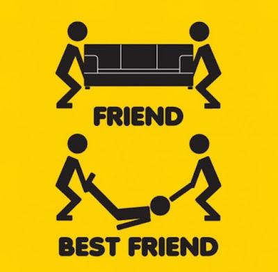 Υπάρχουν φίλοι και φίλοι
