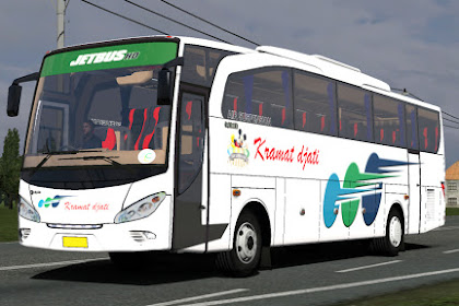 Skin Kramat Djati Putih for Jetbus HD Abdul Dudu cvt FPS