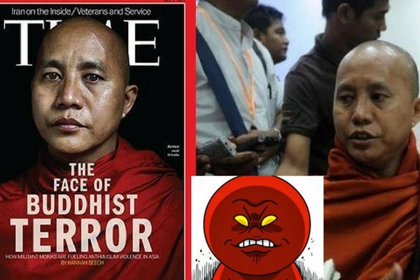 Dalang di Balik Neraka Bagi Kaum Rohinghya Biksu Ashin Wirathu, Blak-Blakan Bilang Begini