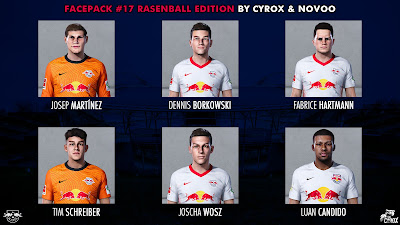 PES 2021 Facepack 17 RB Leipzig Edition by cYrox & NoVoO