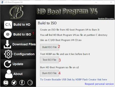 HD Boot Program V4 CD شرح