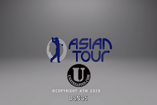 Asian Tour Singapore Open Golf AsiaSat 5 Biss Key 16 January 2020