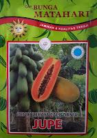 buah pepaya, pepaya california, cap bunga matahari, jual benih pepaya, toko pertanian, toko online, lmga agro