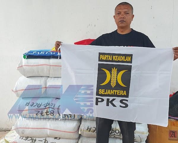 REDYSTOK BENDERA-PARTAI-PKS UKURAN 90X60CM