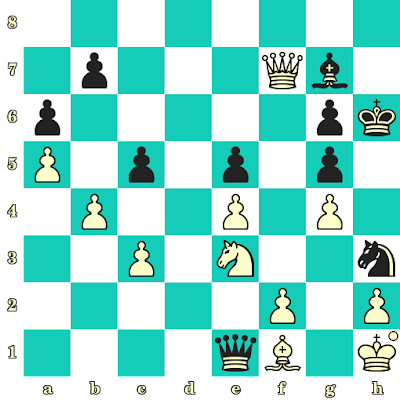 Les Blancs jouent et matent en 2 coups - Viktor Korchnoi vs Lev Gutman, Wijk aan Zee, 1987