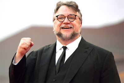 Guillermo del Toro Getting a Star on the Walk of Fame in Hollywood