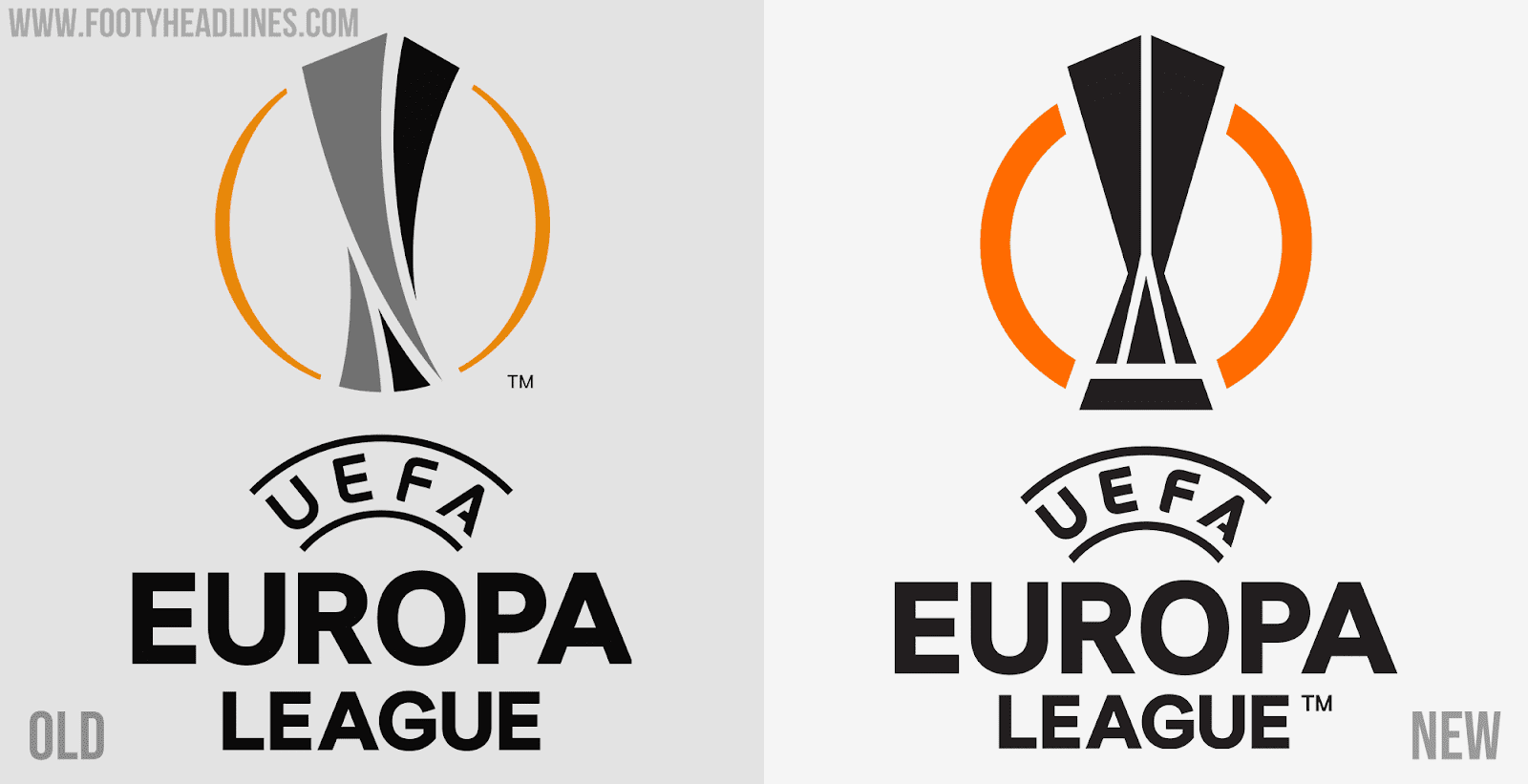 Standing 57.5cm tall and weighing 11kg, the trophy. UEFA Europa League 2021 Logo Revealed - Footy Headlines