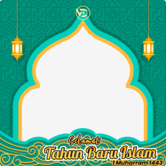 arnaim.com - Template Twibbon Tahun Baru Islam 1443 H (4)