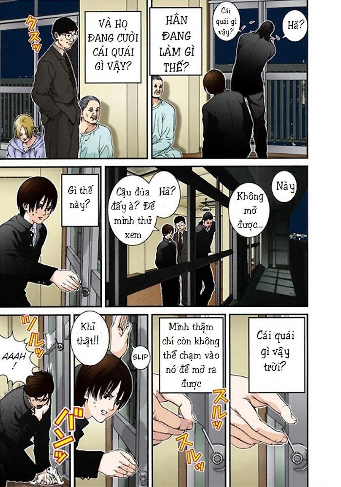 Gantz Chap 02: Căn phòng bí ẩn trang 10
