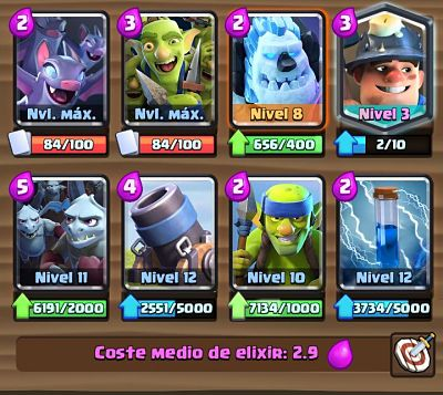 4 Mazo con Mortero  Clash Royale