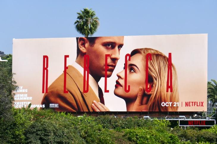 Rebecca movie remake billboard