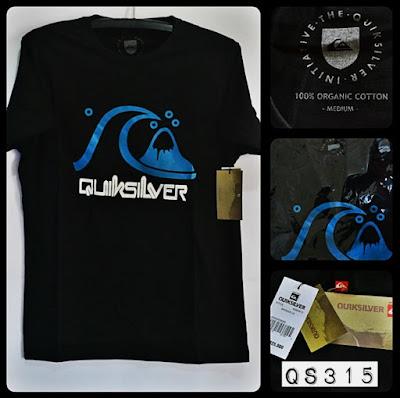 Kaos Distro Surfing Skate QUIKSILVER Premium Kode QS315