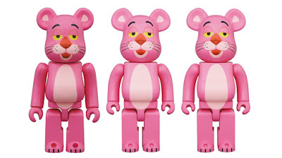 The Pink Panther Be@rbrick Vinyl Figures by Medicom Toy