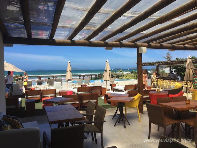 Restaurante e bar do Uniq Beach Lounge